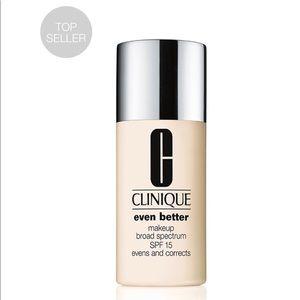 Clinique even better makeup 02 fair NIB SPF 15
